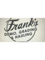 Logo Frank's Demo, Grading & Hauling