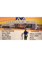 Logo Clean 4 sure MD LLC