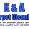 Logo K&A Carpet Cleaning