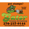 Logo Gator Stump Grinding