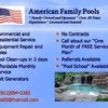 Logo American Family Pools