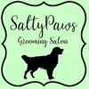 Logo Salty Paws Grooming Salon