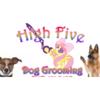 Logo High Five Dog Grooming
