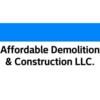 Logo Affordable Demolition & Construction LLC