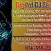 Logo DJ Service Karaoke Night At The Races Any Event Professional Equipment