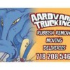 Logo Ardvark Trucking and Rubbish removal