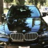 Logo Car service, black car, private transportation