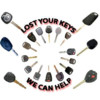 Logo CAR KEYS AND REMOTES