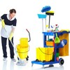 Logo Organization, Laundry, Garbage removal, Kitchen cleaning. One call cleans it all!