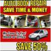 Logo MOBILE AUTO BODY REPAIR , SAVE 50% or more!