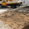 Logo Hauling debris, trash removal