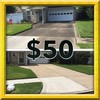 Logo Pressure washing. $50 special 2 car driveway. Call today for your free estimate!...