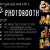 Logo LEt us take your party pictures!!! Live photobooth with props