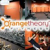 Logo OrangeTheory Fitness. REACH YOUR FITNESS GOALS! DO YOU WANNA CHANGE YOUR LIFE? GREAT DEALS!