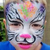 Logo FACE PAINTER. FUNNY FACES OF INDY