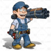 Logo HANDYMAN SERVICES (English) - FAN'S AND LIGHTS, PLUMBING, DOORS