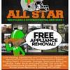 Logo PROFESSIONAL TRASH JUNK & CLUTTER REMOVAL. CALL ALL STAR!