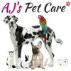 Logo AJ's Pet Care - Training, Pet Sitting, Meds, Overnight Insured &Bonded