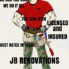 Logo HANDYMAN WITH OVER 15 YEARS. FREE ESTIMATES!