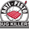 Logo Anti-Pesto Bug Killers. Protect your home against pests today!