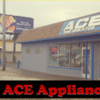 Logo Ace Appliance. Repair. Call!