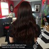 Logo Professional haircut, color, blow dry, all style needs