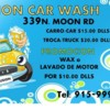 Logo FUSION CAR WASH