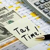 Logo TAX PREPARATION - WE WORK ON GETTING YOU THE BIGGEST REFUND