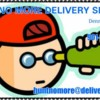 Logo Hunt No More Delivery Service