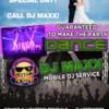 Logo DJ MAXX - sound & lighting service