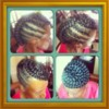 Logo HEALTHY NATURAL HAIR, BRAIDS & WEAVES. NAPTURAL HAIR STUDIO!