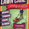 Logo Quality Lawn Care. Acres start at $45 and up