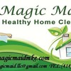 Logo Magic Maid Heathy Cleaning service