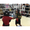 Logo LEARN BOXING IN A BOXING GYM ( Aleman Boxing Fresno)