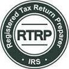 Logo H&R Block. Tax Service