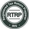 Logo H&R Block. Tax Service