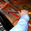 Logo Piano Tuner. VOICING,  ADJUSTMENTS AND REPAIRS.