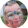 Logo Face Painter And Glitter Tattoos