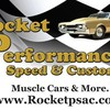 Logo ROCKET PERFORMANCE SPEED & CUSTOM