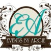 Logo Events Planner. Events by Argie