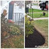 Logo Shannas m+g lawn care and land scape
