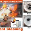 Logo Mr. Lint. Dryer vent duct cleaning