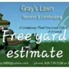Logo Gray's Lawn Care!