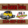 Logo *** Affordable , Fast ,24/7, Guevara Towing Grua