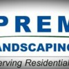 Logo Premier Landscaping. Early specials on mowing 2016