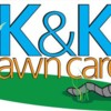 Logo K&K Lawn Care. Lawn Mowing