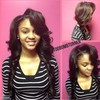 Logo Brazilian Human Hair with Sew-In Only $150!!! ATL'S Finest Weave Shop