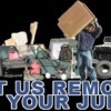Logo Marvin's Junk Disappear Trash and Junk Removal