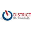 Logo District Technologies. SECURITY CAMERAS