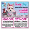 Logo 20% OFF Dog & Cat Grooming & Dog Boarding in Bayside Queens NY